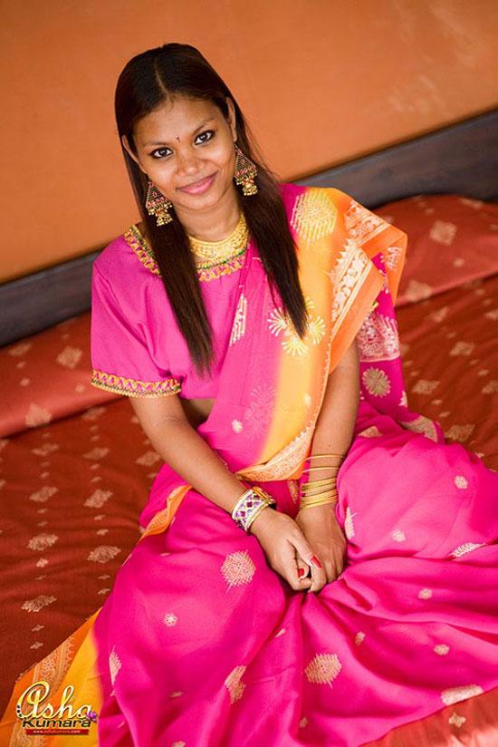 Эротика с моделью Asha Kumara из Индии (16 фото)