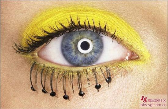 Красивые глазки и губки (7 фото)