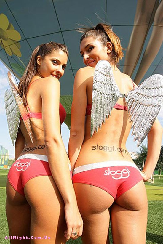 Лучшие попки 2008 от Sloggi (10 фото)