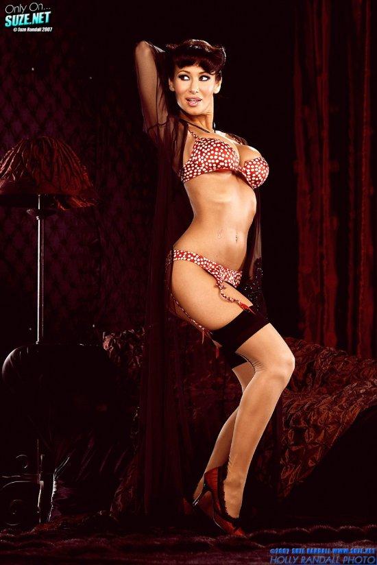 Sandee Westgate в наполненной сексуальностью комнате (20 фото)