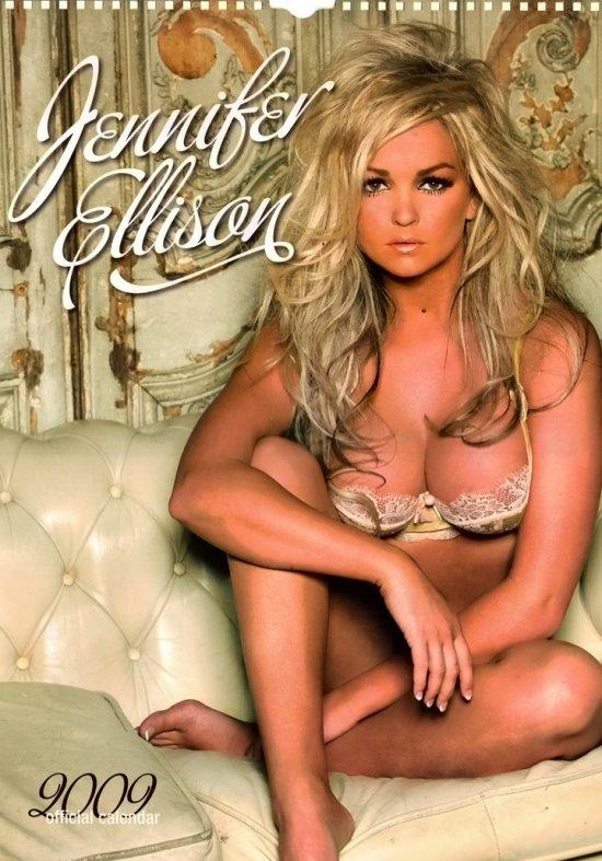 Дженнифер Эллисон и ее календарь на 2009 год (14 Фото)