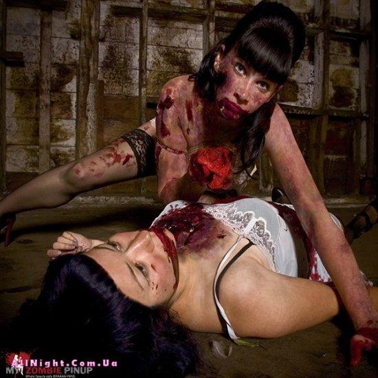 Зомби-календарь (12 фото)