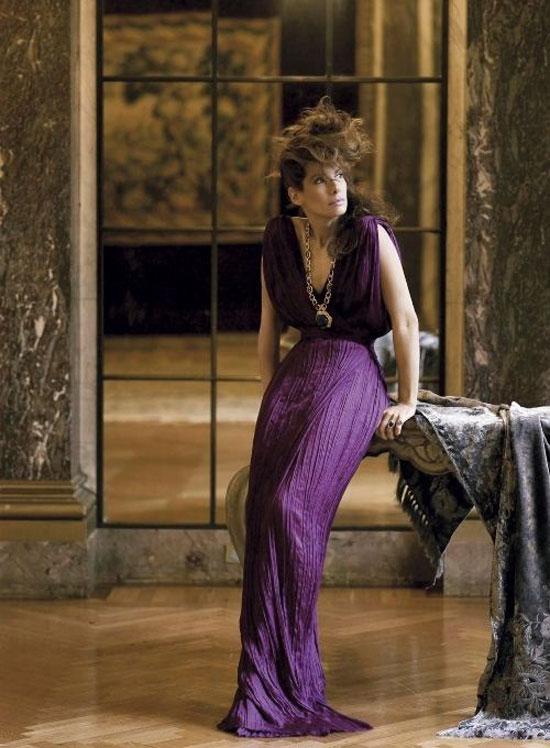 Sandra Bullock в журнале Vogue (5 фото)