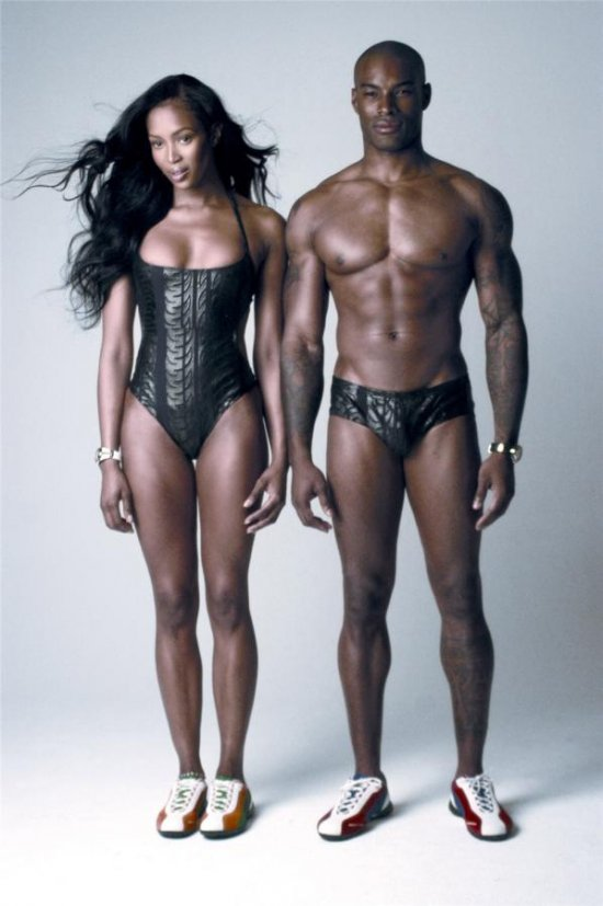 Naomi Campbell и Tyson Beckford (10 фото)