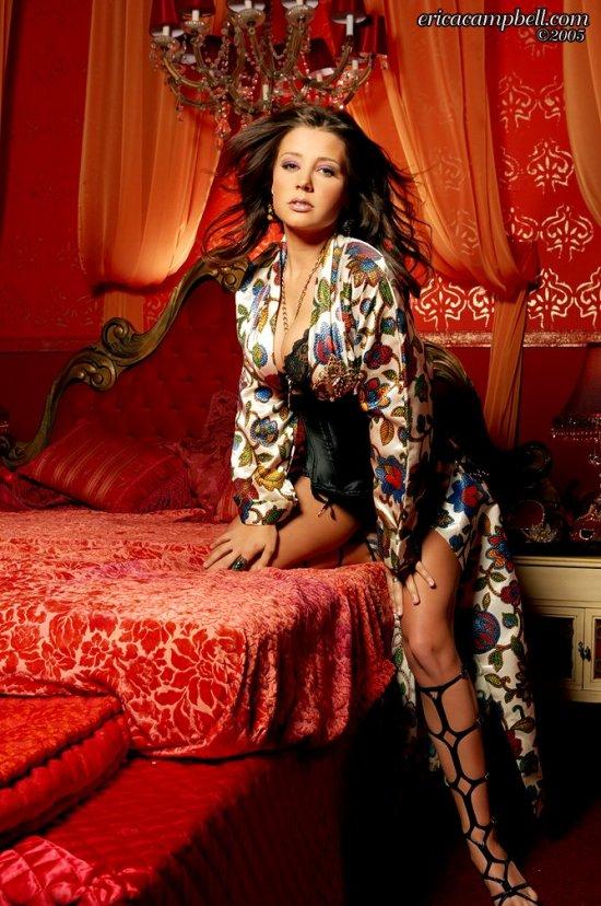 Erica Campbell в самой дорогой спальне дворца (20 фото)