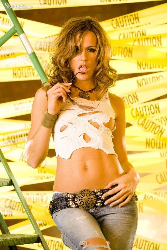 Сексуальная Crystal Klein на запретной территории (20 фото)