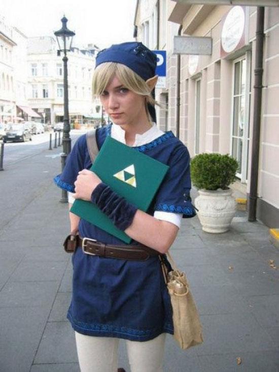 Фанатки японской игры Legend of Zelda на Nintendo Vii (24 фото)