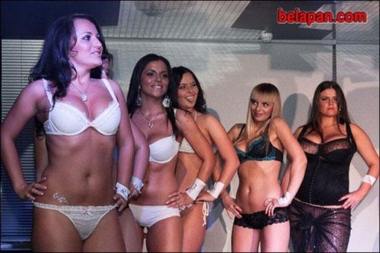 Конкурс Мисс Грудь в Минске (26 фото)