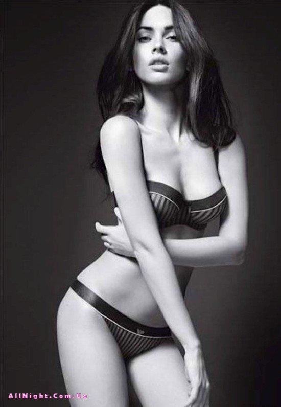 Megan Fox в рекламе Armani (6 фото)