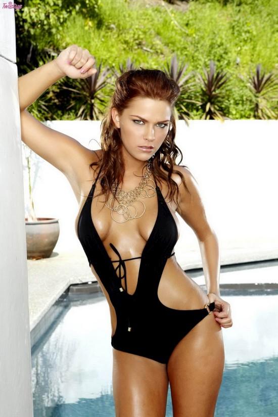 Разврат модели Meggan Malone (18 фото)