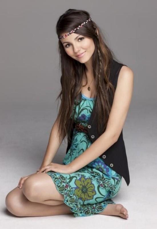 Милая актриса Victoria Justice (6 фото)