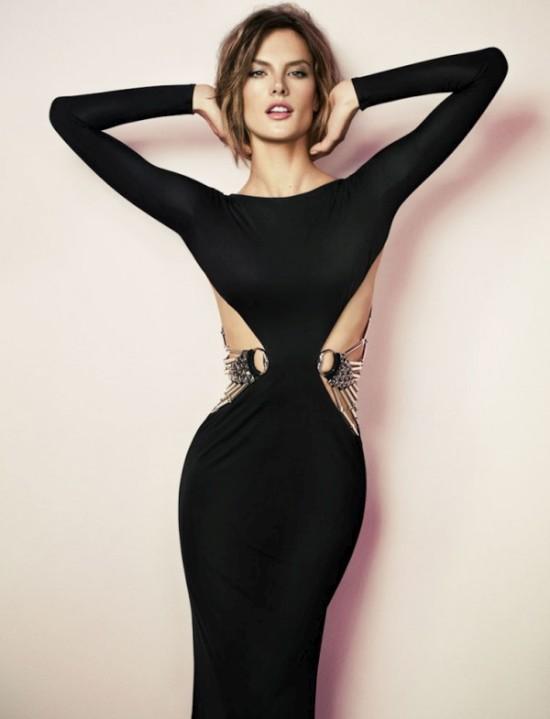 Алессандра Амбросио в фотосессии для Vogue (8 фото)