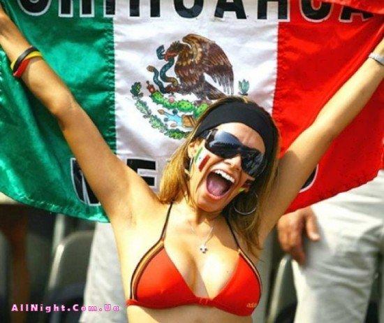 Фанатки с чемпионата мира по футболу (40 фото)
