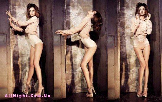 Фотосессия Миранды Керр для журнала «Elle» (8 фото)