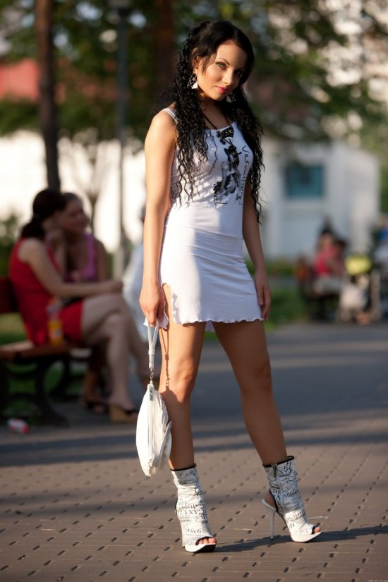 Ksenia уехала за город (19 фото)