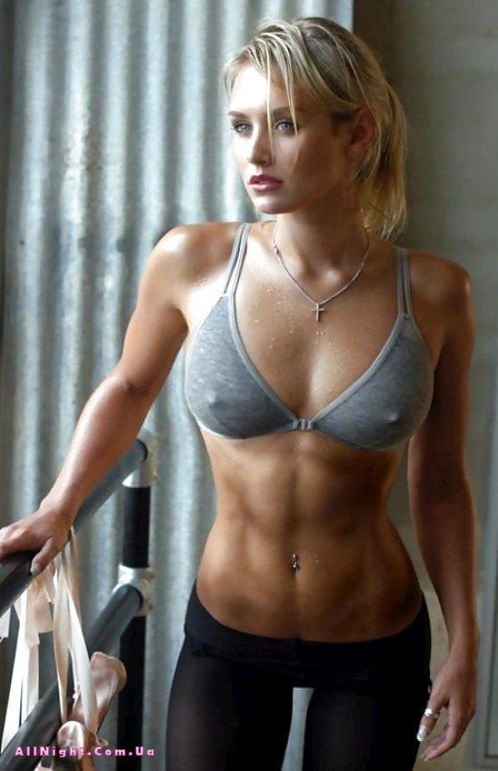 Эротические фото спортивных девушек