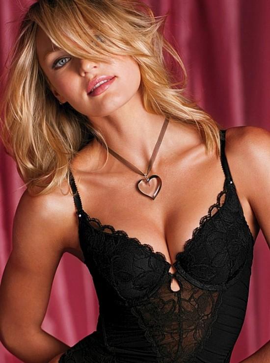 Кэндис Свейнпол в анонсе Victoria's Secret (15 фото)