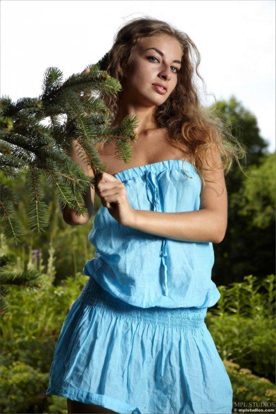 Славянская красота девушки Sasha (15 фото)