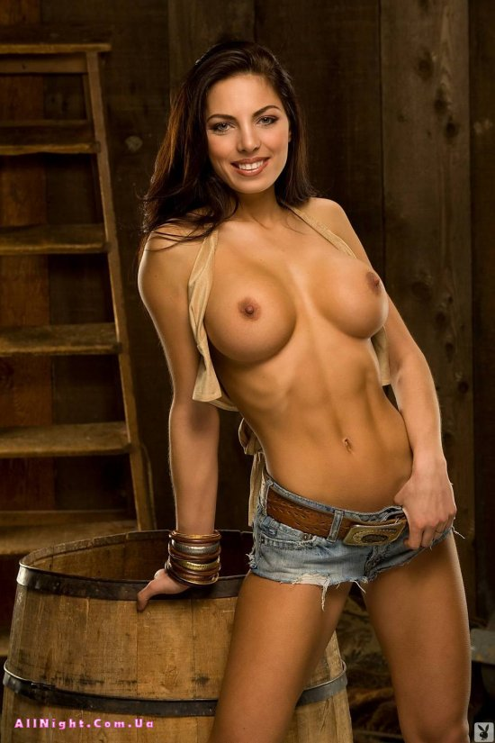 Ковбойская эротичная девушка Adrianna Meehan (12 фото)