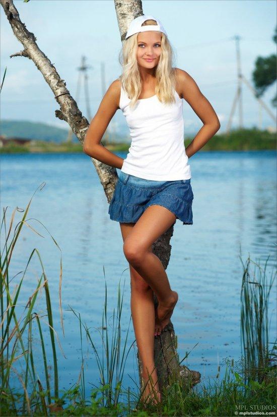 Высокое качество эротики прекрасной Talia (18 фото)