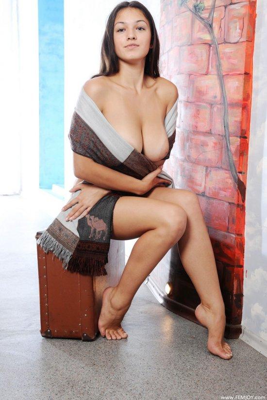 Эротические картинки с талантливой моделью Sofie (14 фото)