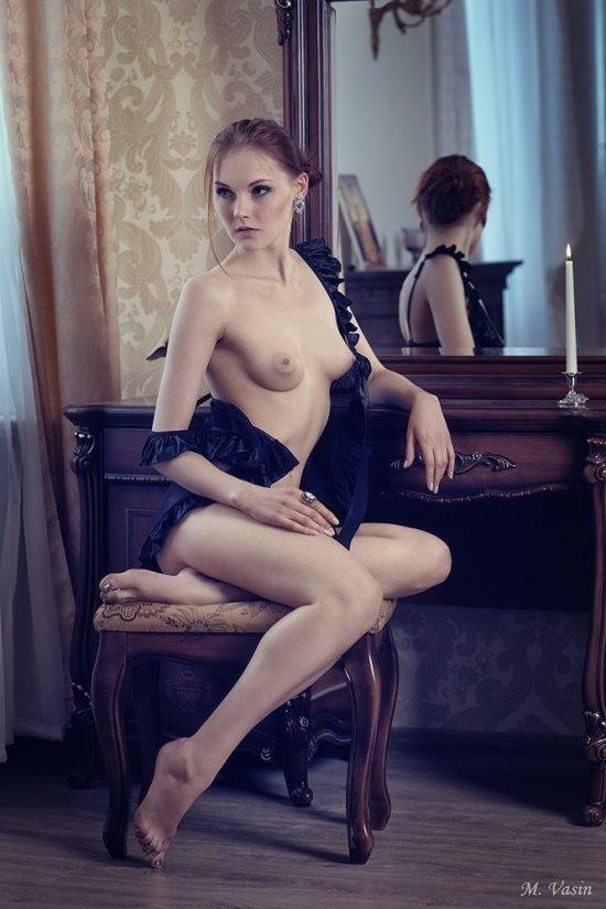 Эротика красивых россиянок в творчестве Михаила Васина (25 фото)