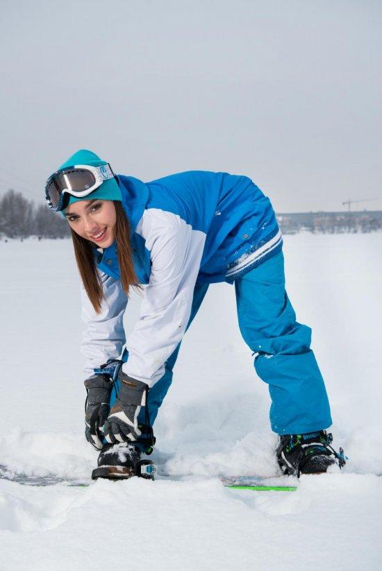 Эротический привал сноубордистки Balina (28 фото)