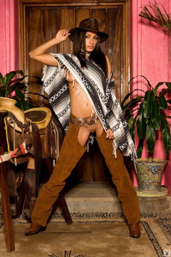 Развратная подружка ковбоя Jo Garcia (16 фото)