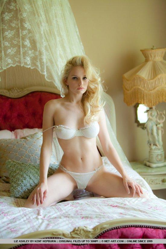 Благородно выглядящая синьорина Liz Ashley (12 фото)