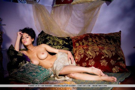 Показ горяченького в комнате для расслабления от Pammie Lee (20 фото)