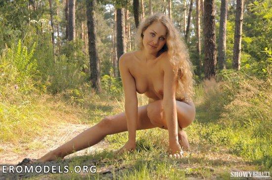 Ставшая главной красотой всего леса Vika (44 фото)