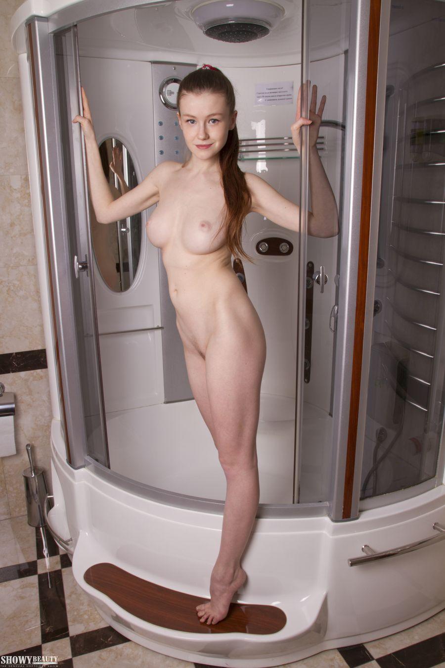 Секс в кабинке душевой фото — 10