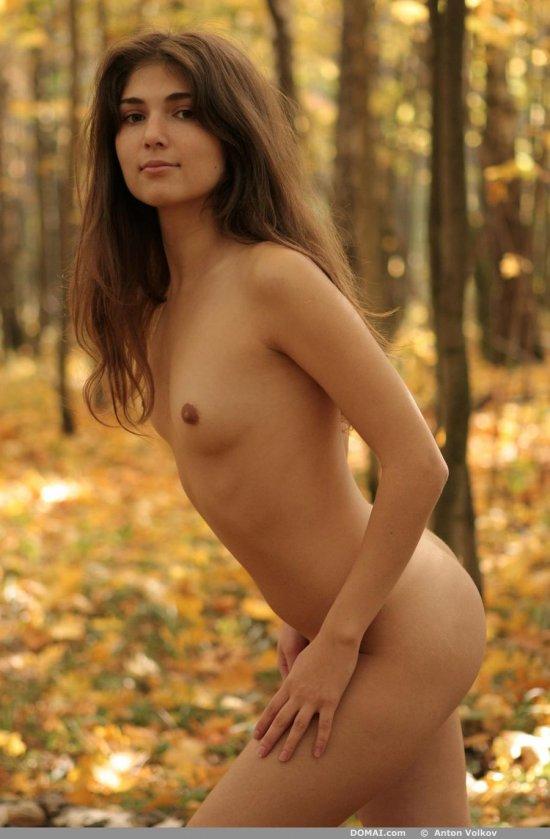 Заставшая самый цвет красок осени Kristina (16 фото)
