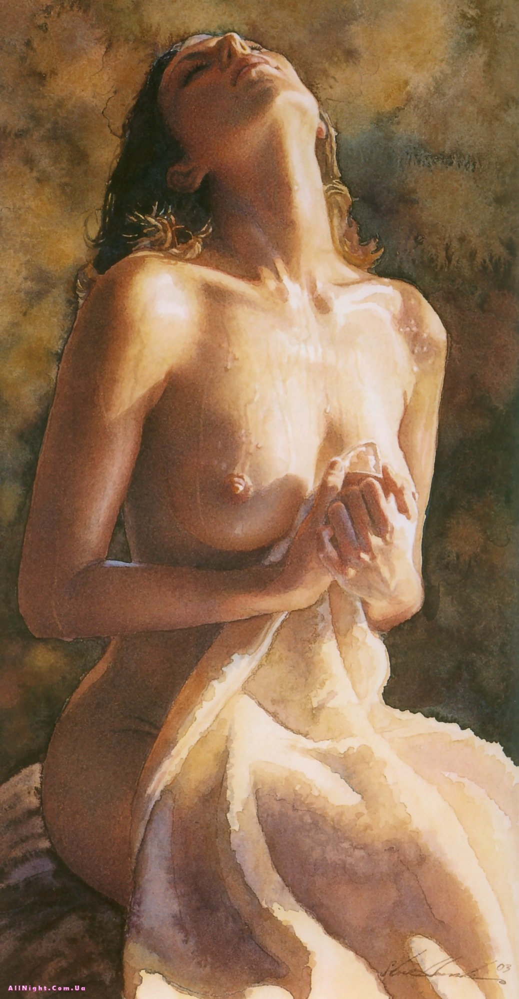 Beautiful nude women paintings