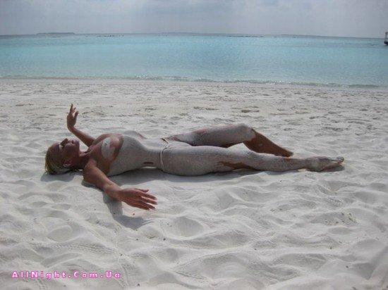 Голая Волочкова На Мальдивах
