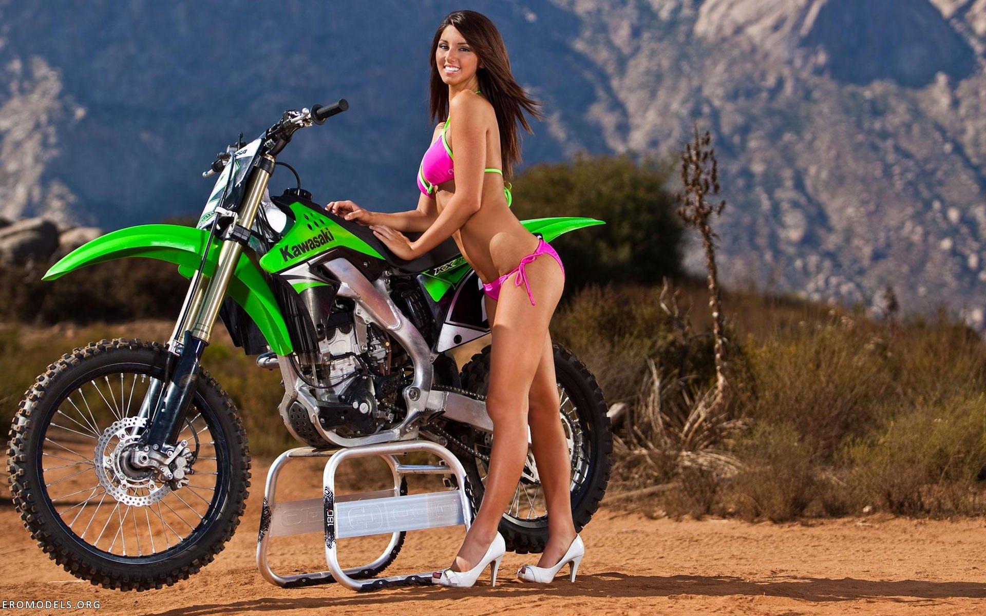 Motocross nude girls